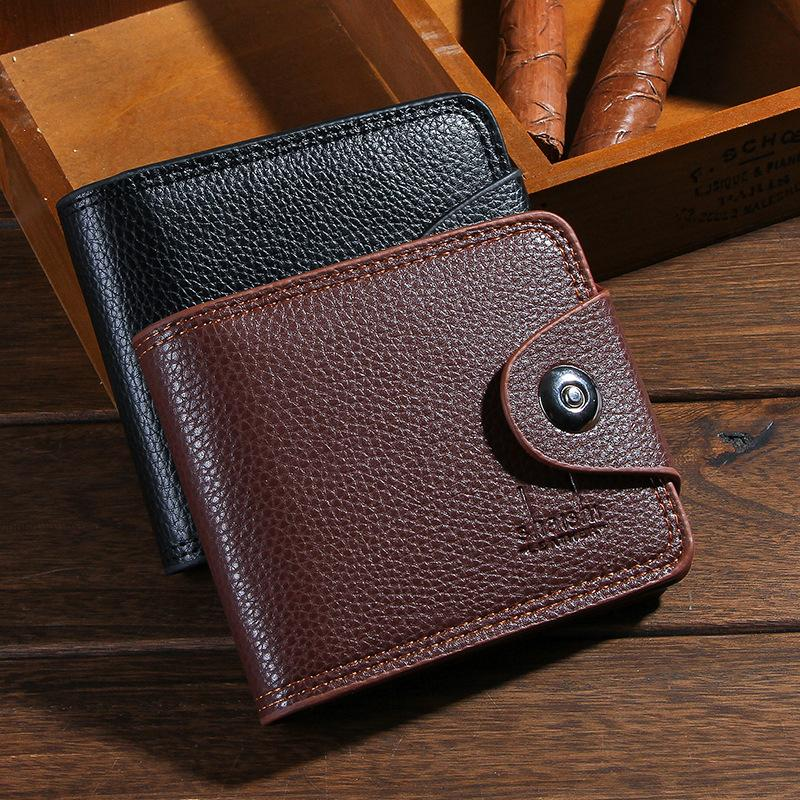 Retro Buckle Wallet