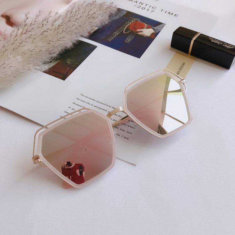 Retro Polygon Colorful Sunglasses