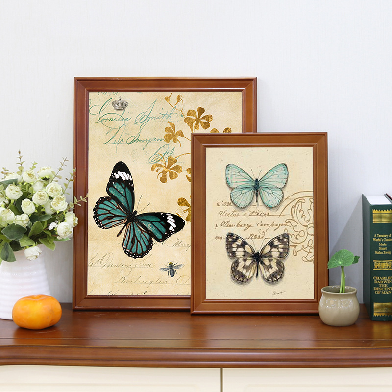 Smooth Painted Wood Frames