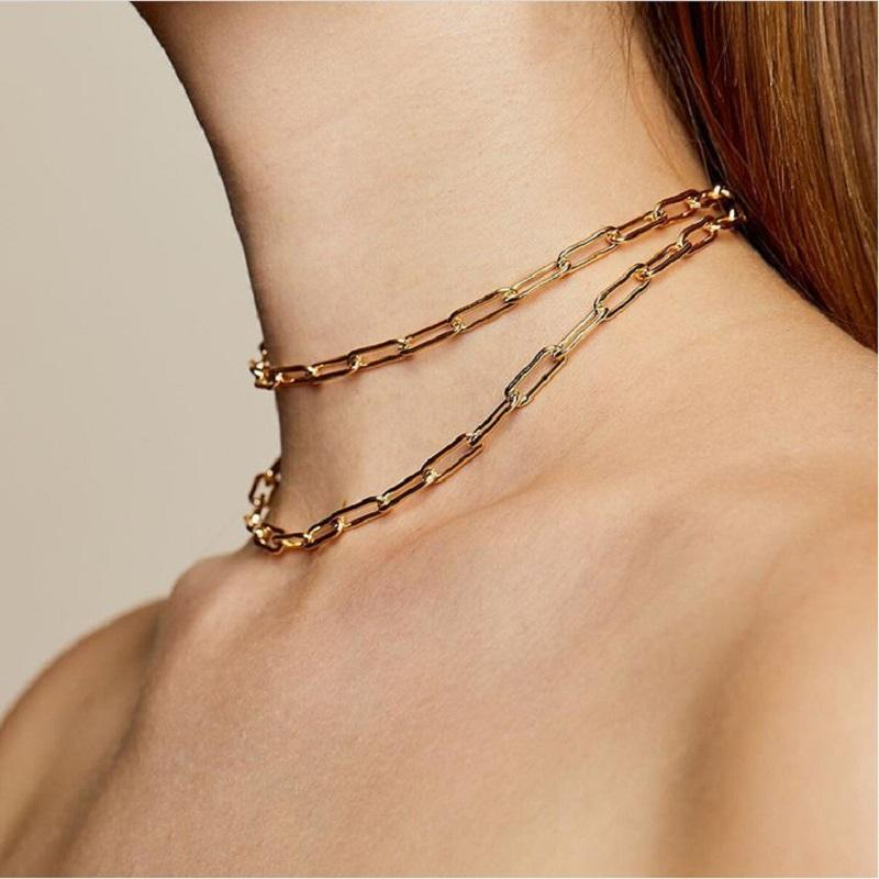 Classic Metal Chain Necklace