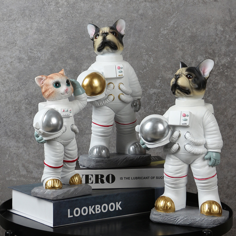 Adorable Space Pets for Home Tabletop