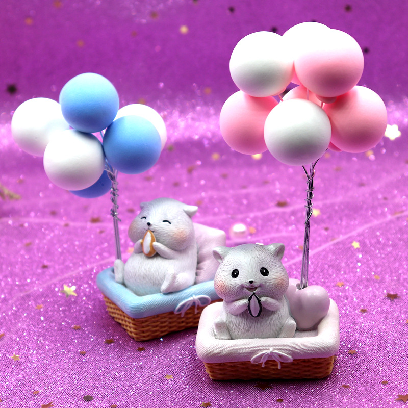 Adorable Character Balloons Figurine for Desk Decoration