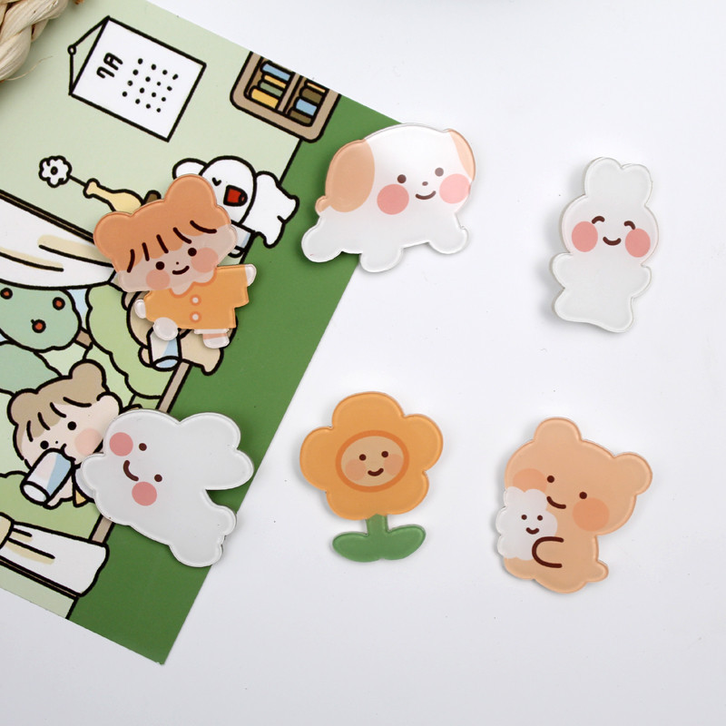 Fluffy-Looking Critter Pins for Cute Jackets