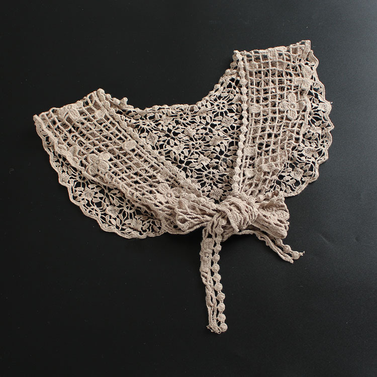 Amazing Flower Pattern Crochet Neck Scarf for Cold Weather