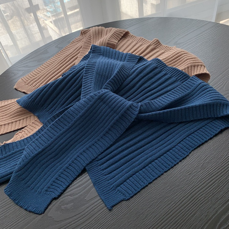 Comfy Ribbed Arm Shawl Sleeves for Winter Fashion