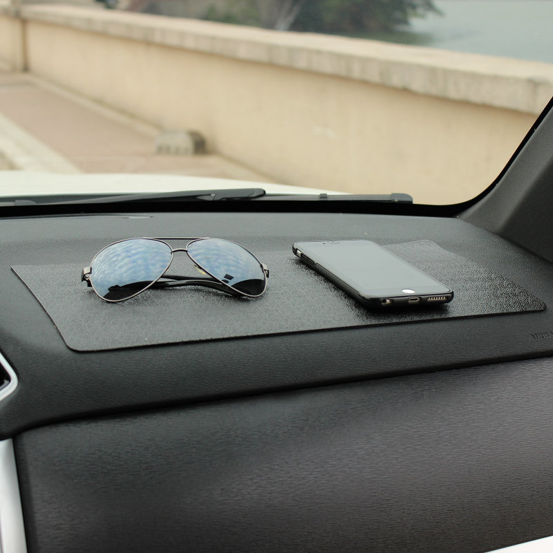 Sticky Anti-Skid Silicone Mats for Car Front Seat Storage