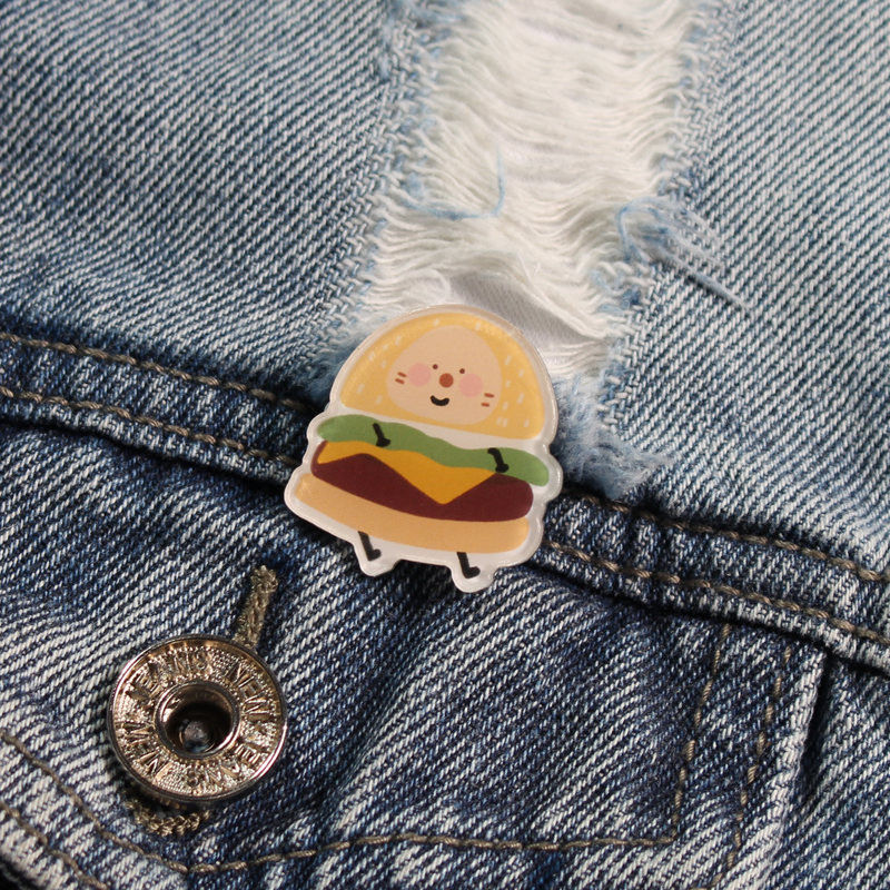 Cute Smiling Faces Pin for Backpack