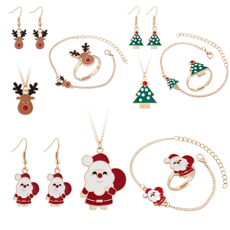 Resplendent Christmas-Themed Jewelry for Holiday Exchange Gifts