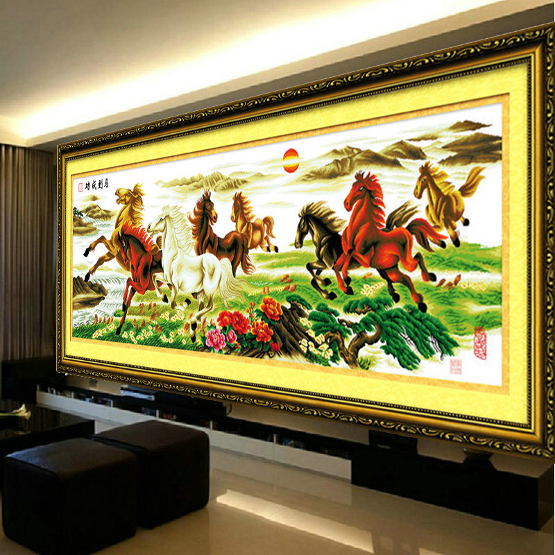 Strength of Stallions Oil Painting
