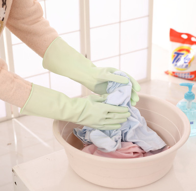 Candy-colored PVC Gloves for Housework Use