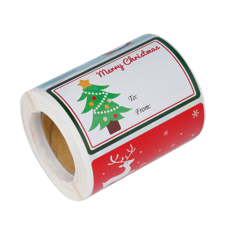 Handy Stick-On Gift Tags for Easily Wrapping Gifts