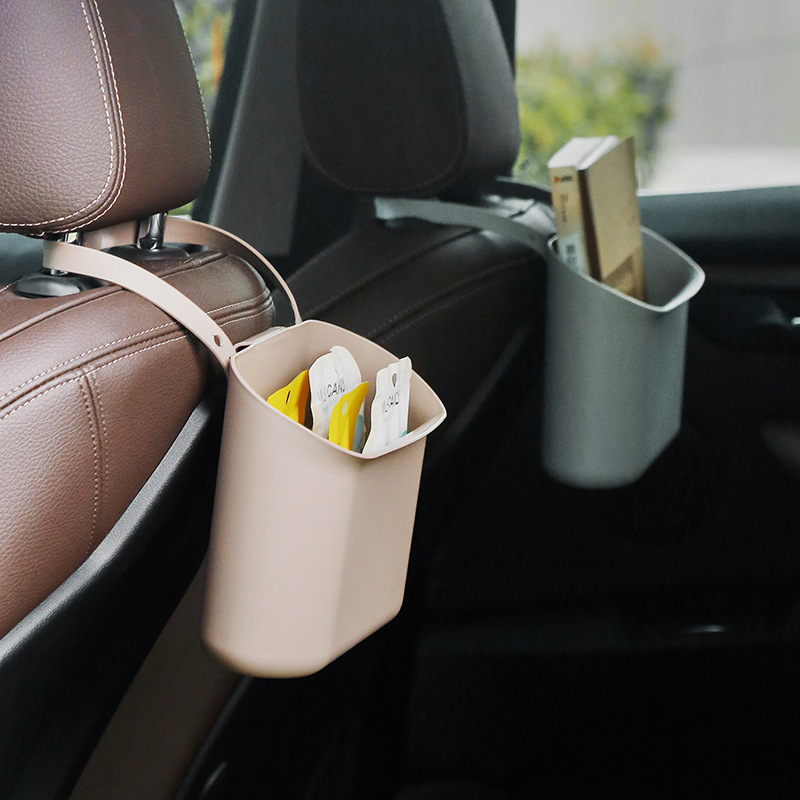Multi-Function Back Chair Seat Hanging Storage Box for Automotive Vehicle