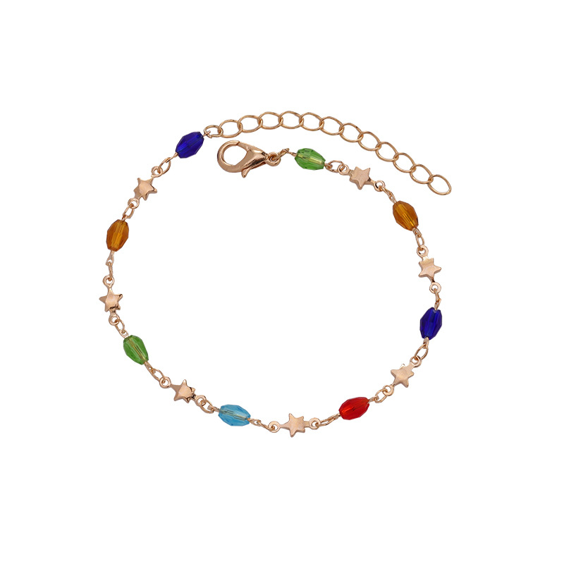 Colorful Anklet for Artistic Accessories