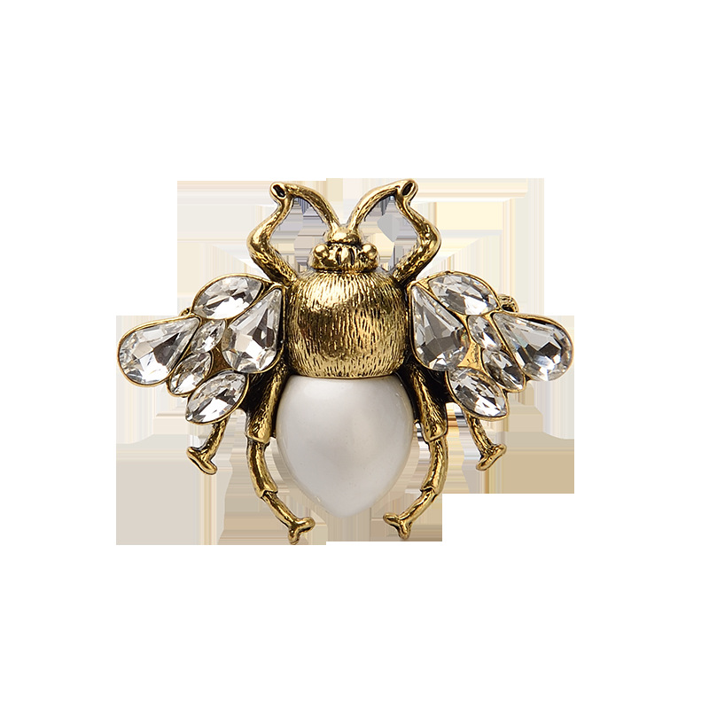 Bold Faux Pearl Ring for Statement Accessory