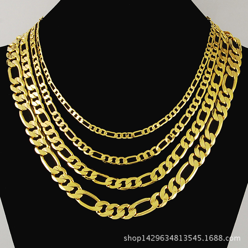 Ecstatic Chain Necklace for Beatbox Hip-Hop Fashion