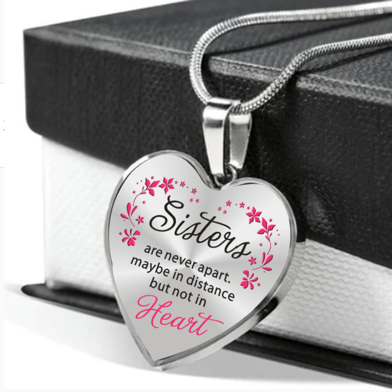 Loving Reminder Heart Necklace for Gifting to Your Loved Ones