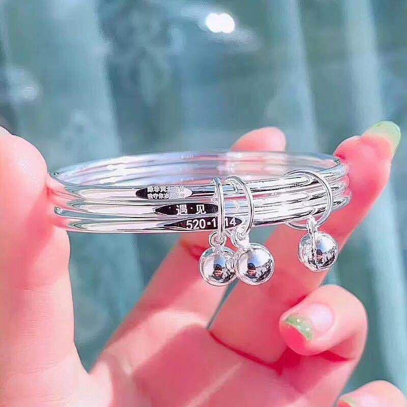 Female Solid Three-circle Bracelet for Giveaways