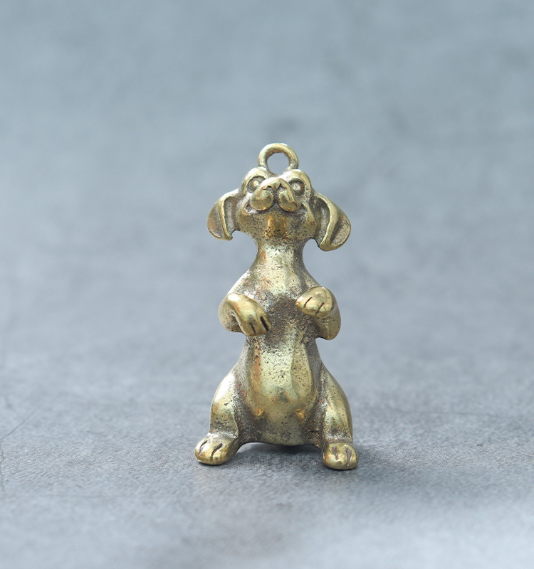 3D Brass Chinese Zodiac Charms for Keychains