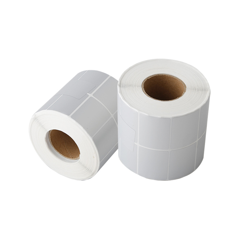 Silver Blank Label Rolls for Small Businesses