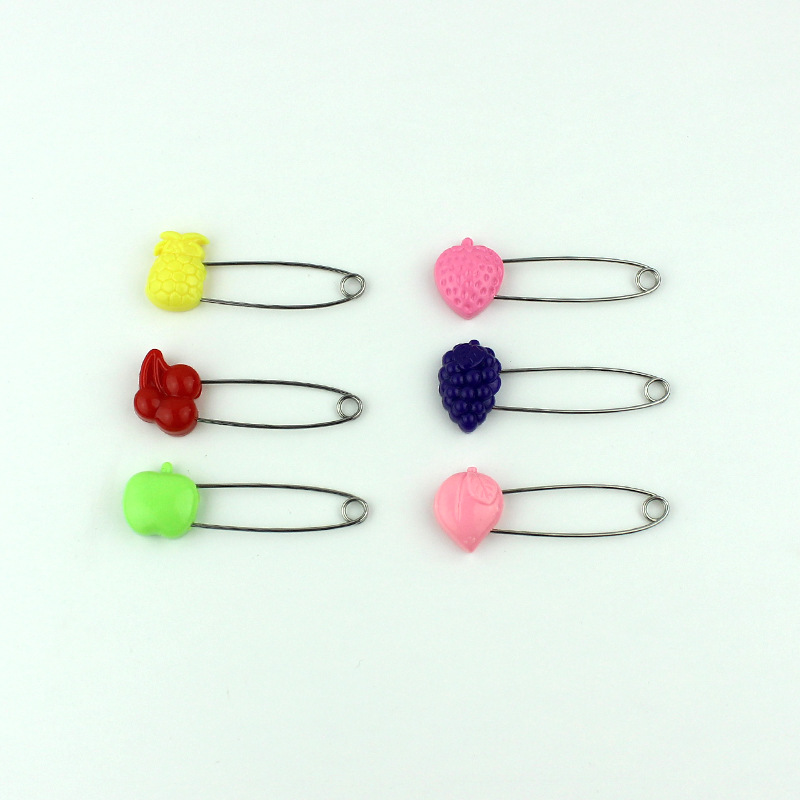 Little Fruits Safety Pin for Armband
