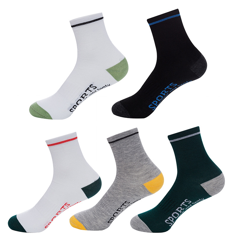 Thick Sweat Absorbing Socks for Athletic Men
