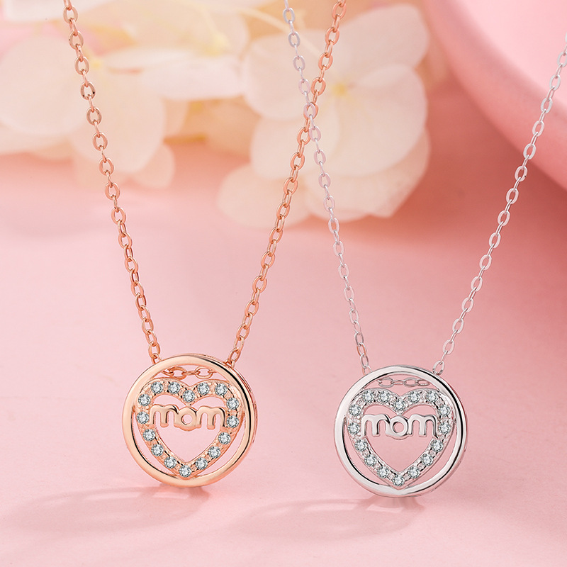 Love Mom! Chain Necklace