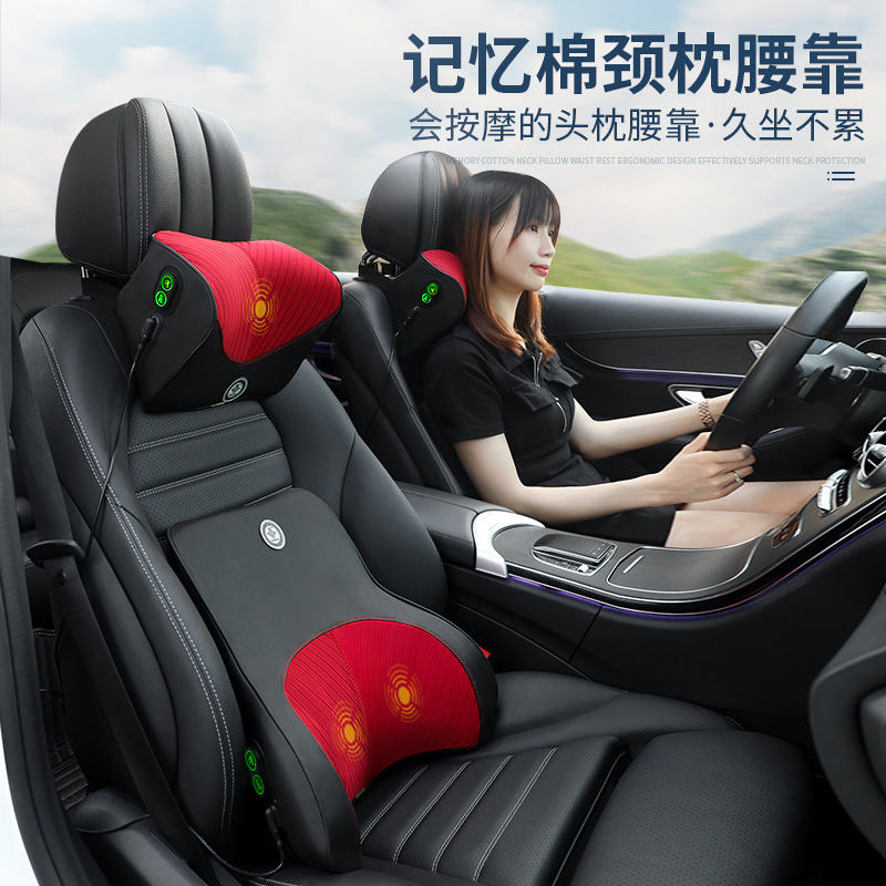 Comfy Soft Waist Car Cushion for Comfortable Seating