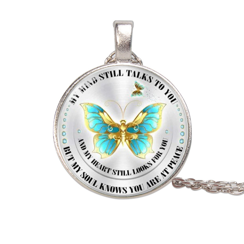 """My Mind Still Talks to You..."" Necklace"
