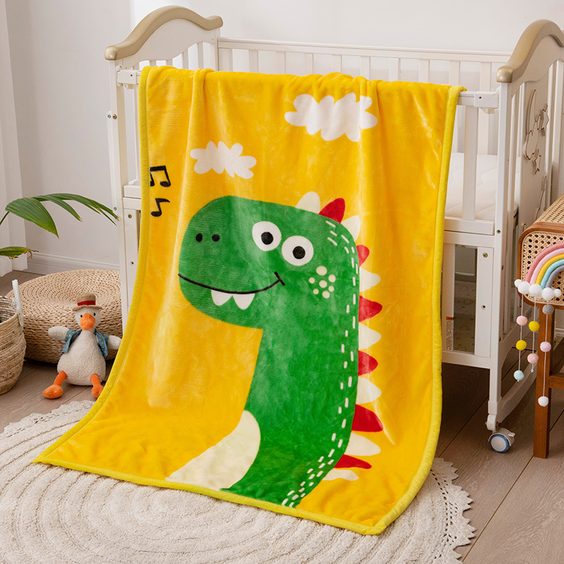 Lovely Animal Faces Kids Blanket