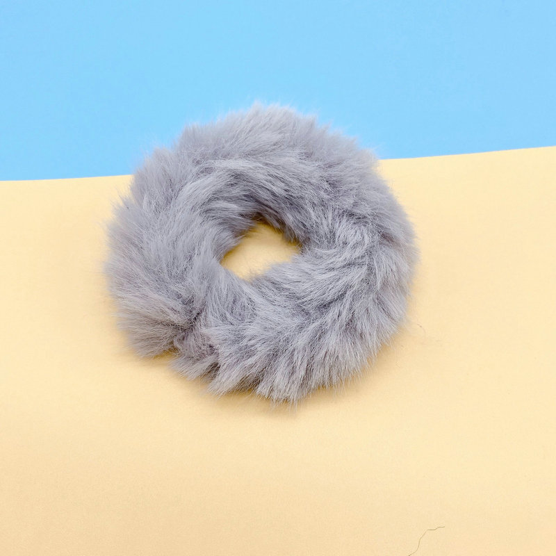 Furry and Frizz-Free Hair Tie