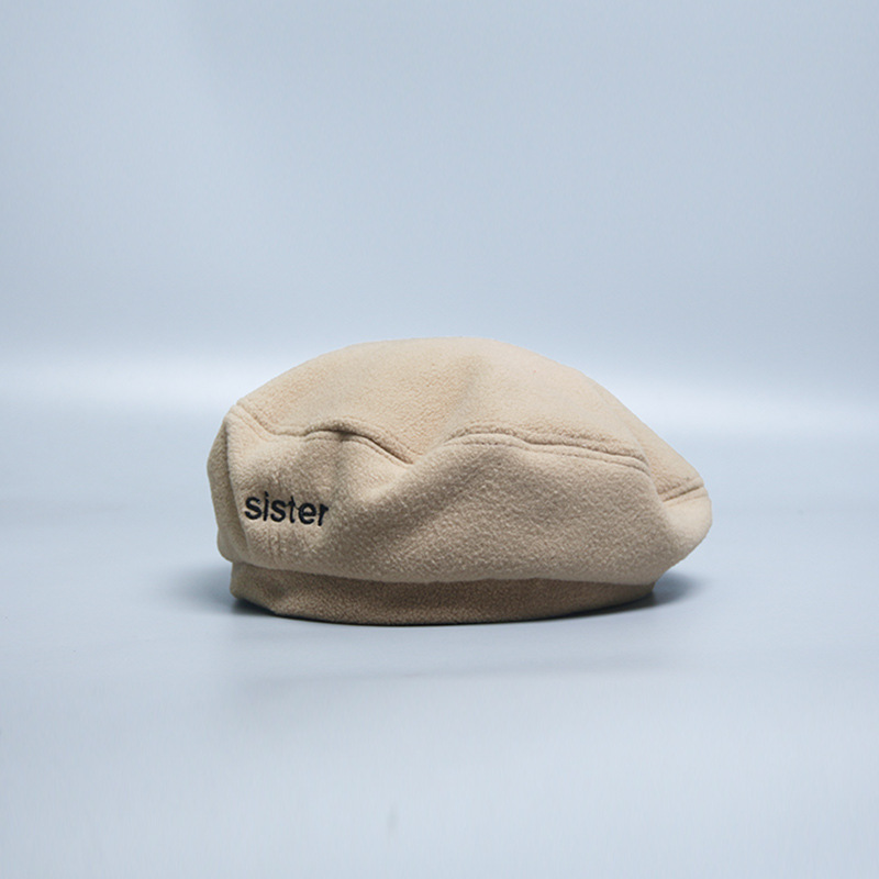 """Single Color """"Sister"""" Beret Hat for Trendy Casual Looks"""