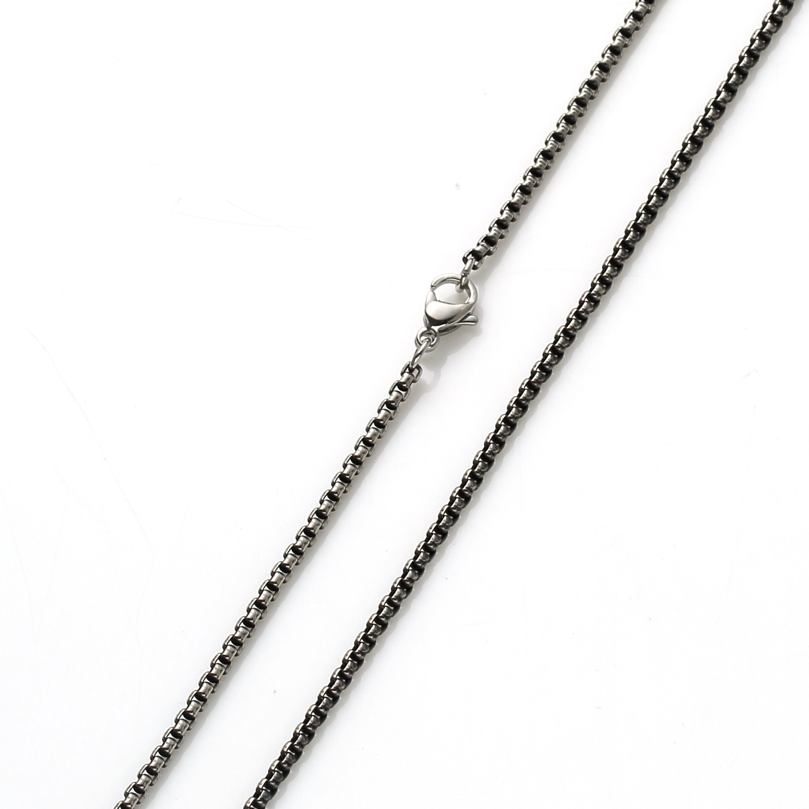 Simple Stainless Steel Chain for Plain Casual Looks