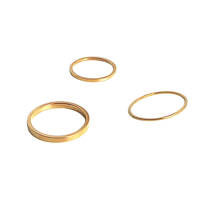 Gold Plated Minimalist Ring