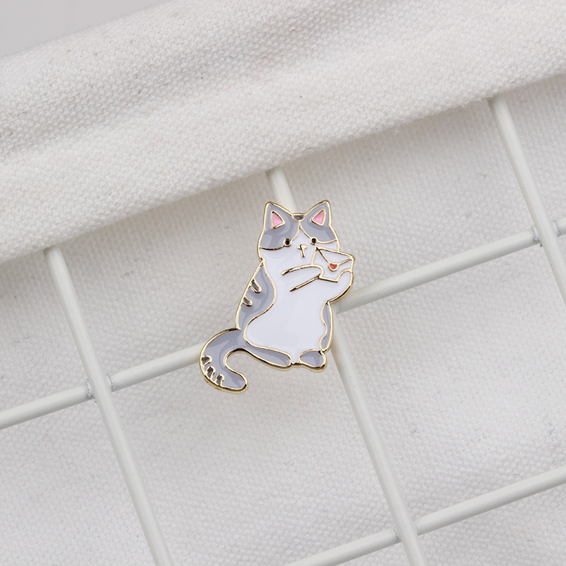 Joyous Kitten Pins for Cat Lovers