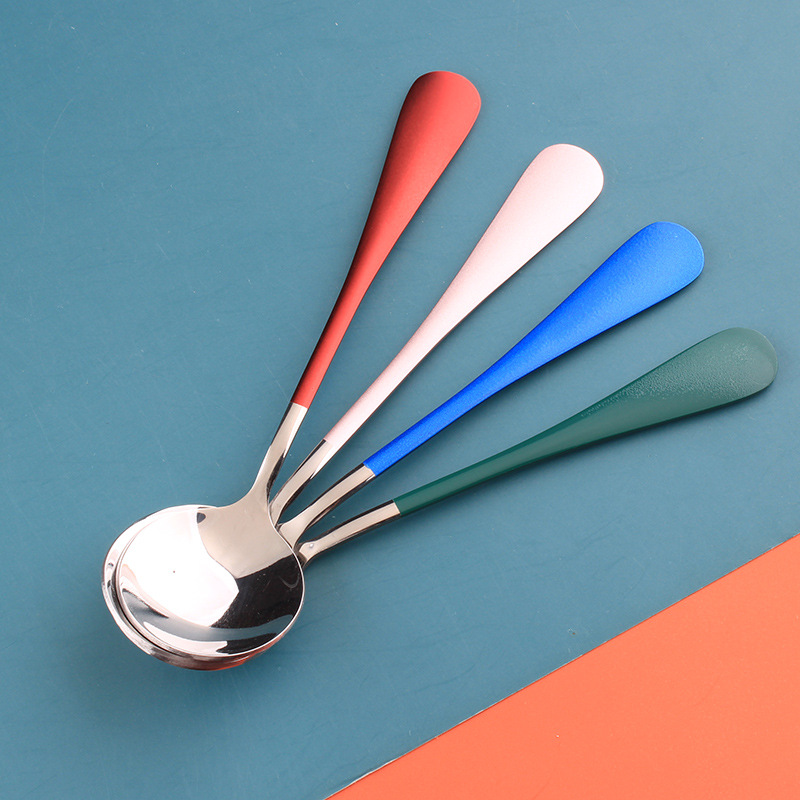 Round Head Stainless Steel Spoon