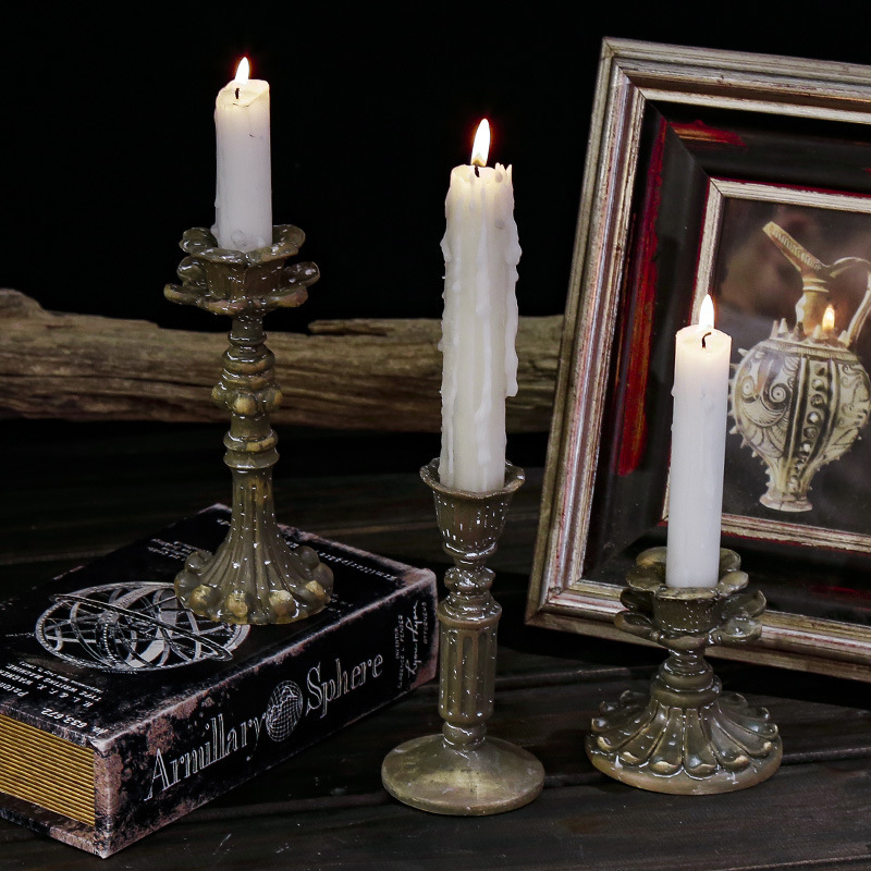 Antique Candle Holders for Vintage Home Interiors