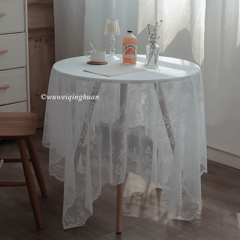 Lovely Floral Tablecloth for Improving the Aesthetic of Your Dining Area