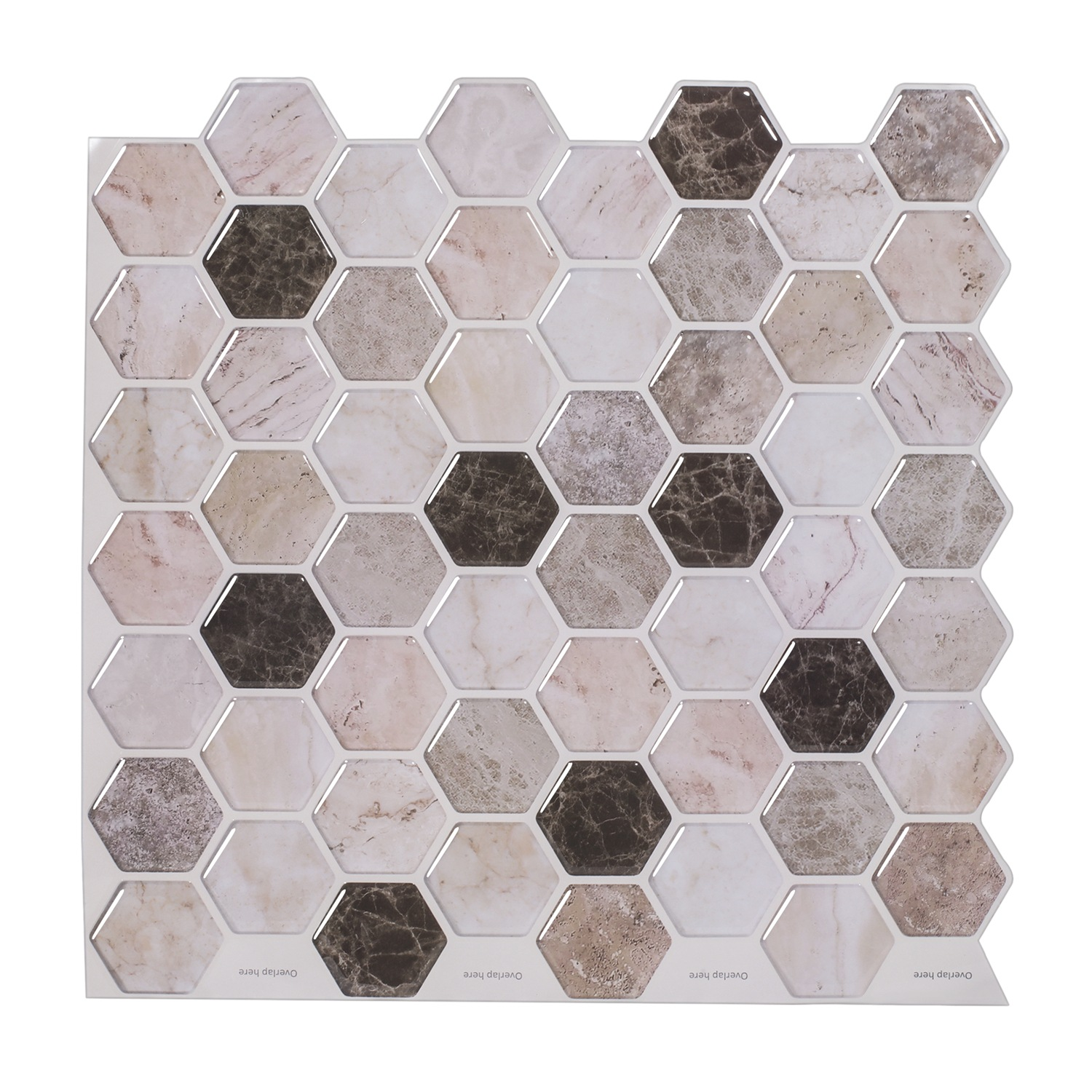 Classy 3D Marble Sticker for DIY Home Design