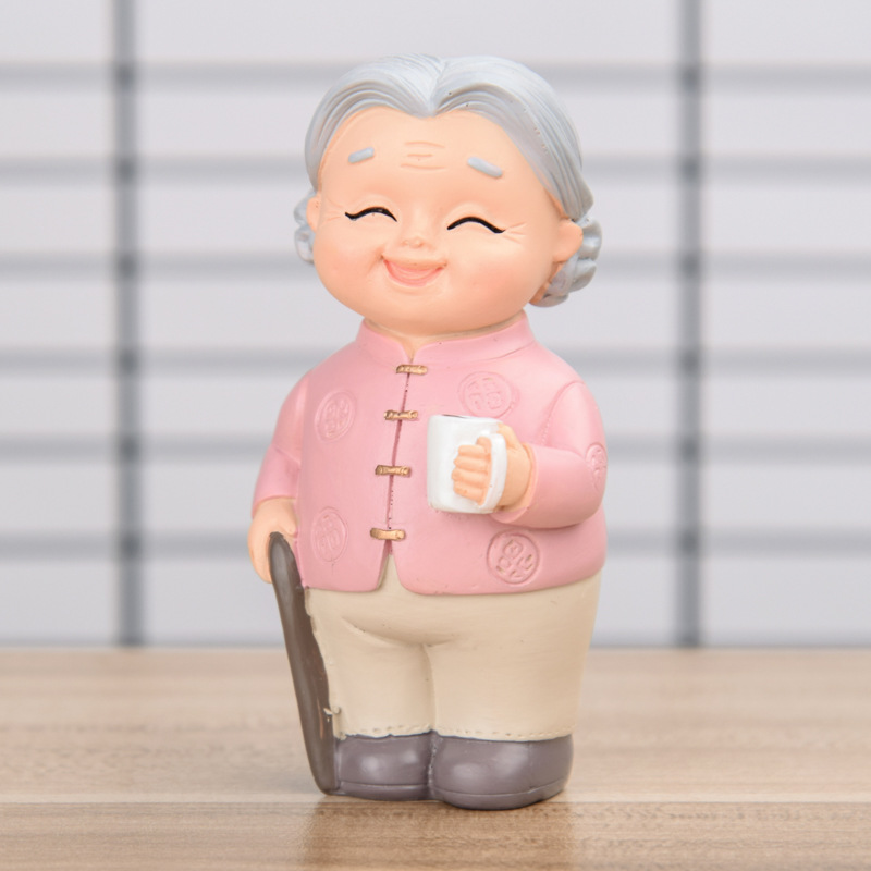 Happy Grandparents Memorabilia Synthetic Resin Decor for Reminiscing and Remembering