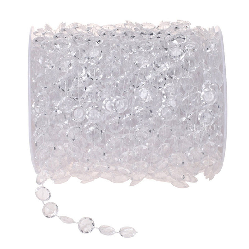 10mm Crystalline Beads Chain for Wedding Ornament