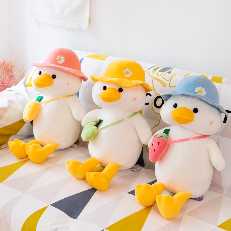 Adorable Duck Plush Toy for Cuddling
