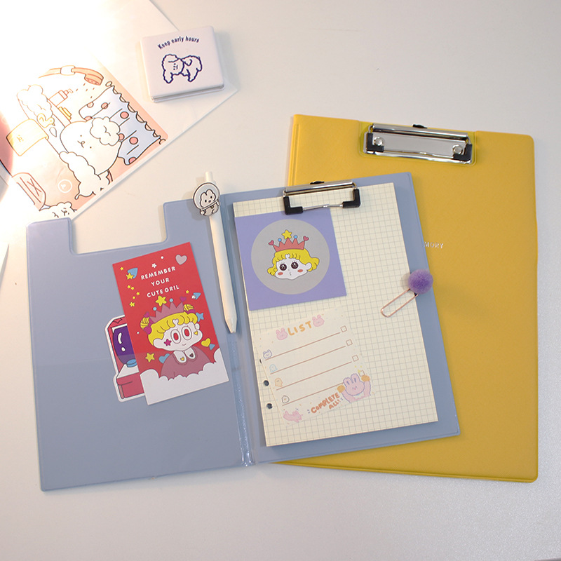 Convenient Colored Clipboards for Fun Office Spaces