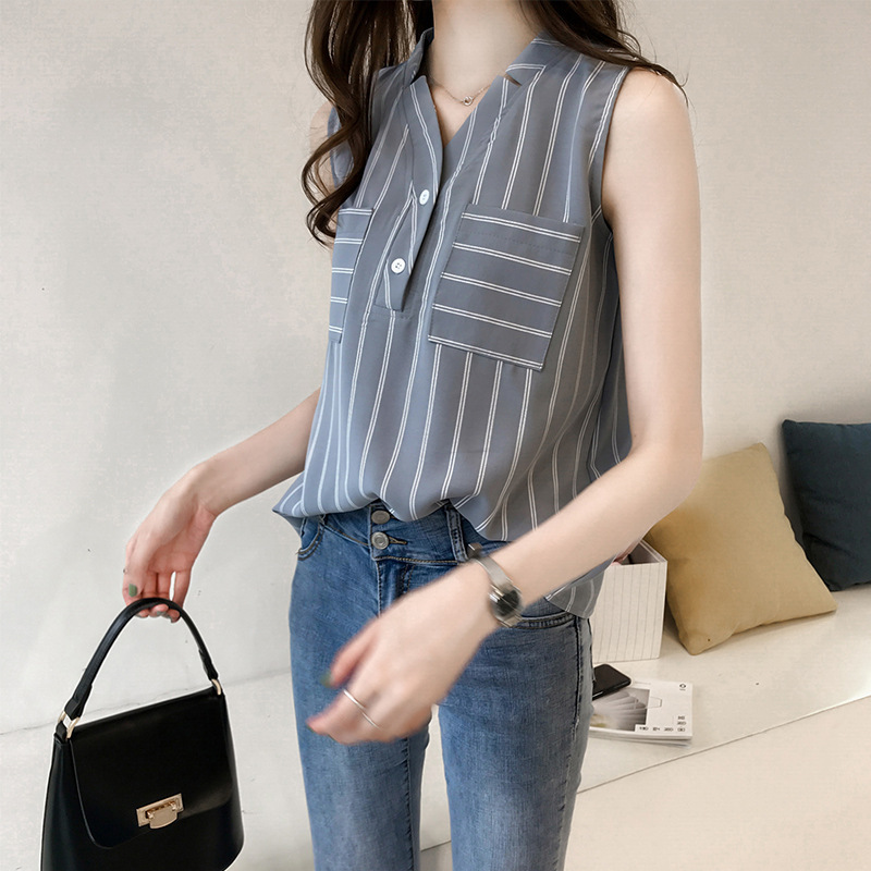 Cool Minimalist Design Sleeveless Shirt for Fashionable Casual Outfits