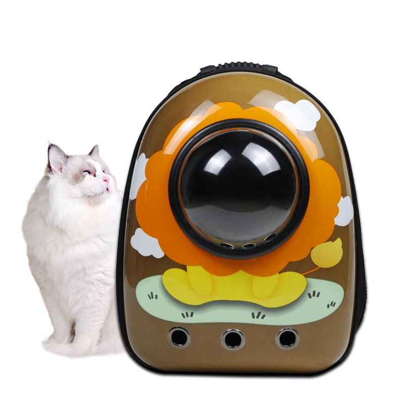 Breathable Pet Carrier Backpack for Weekend Vacations