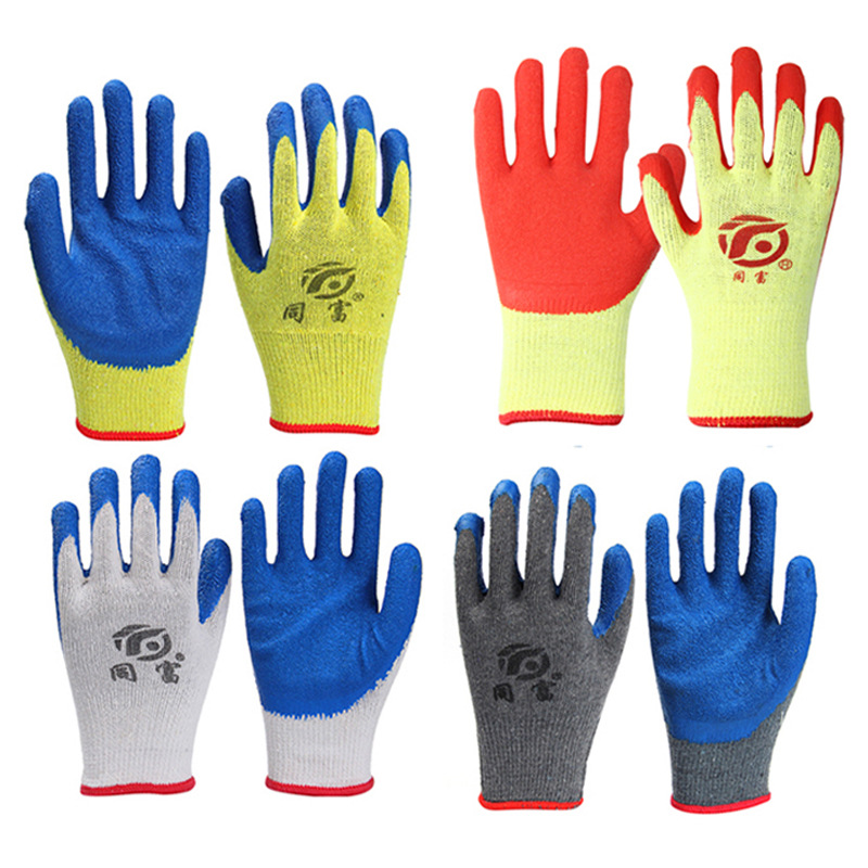 Wear-Resistant and Anti-Slip Cloth Gloves for Work Safety
