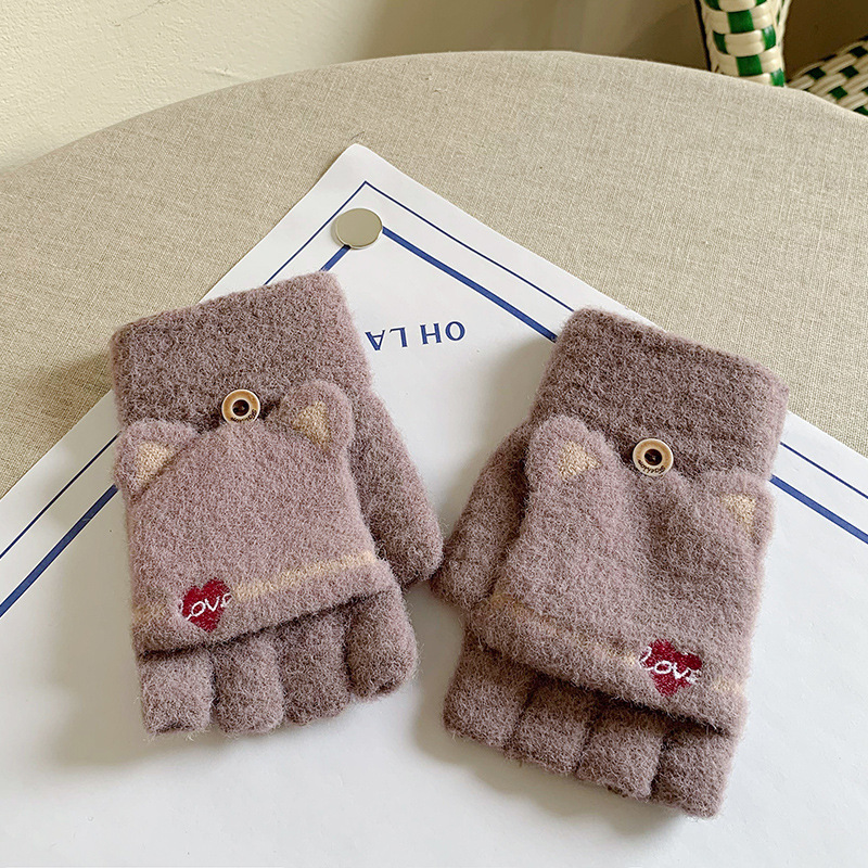 Charming Thick Gloves for Cold Winter Wear