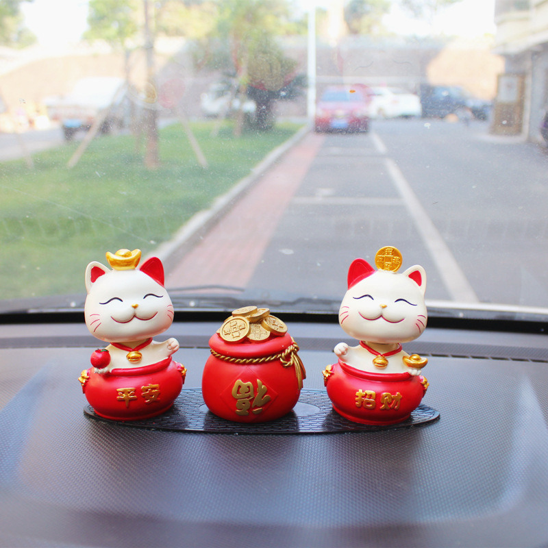 Lucky Kitten Displays for Car Dashboards