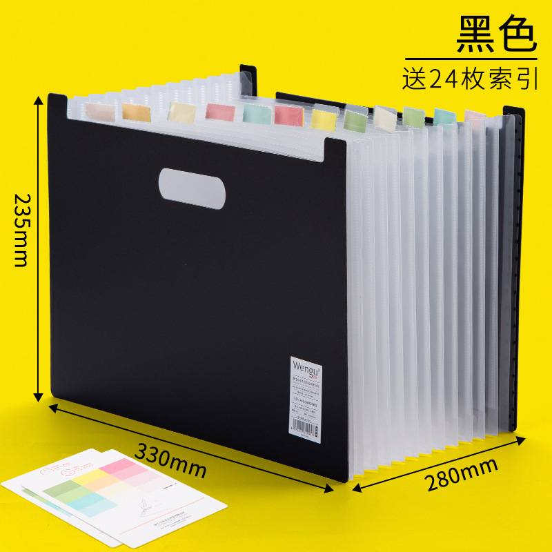 Expanding File Sorter for Office and School Documents