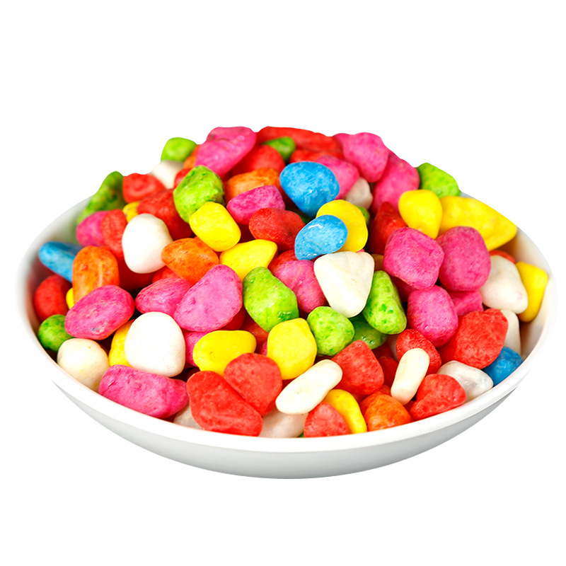 Candy Colored Pebbles for Aquariums