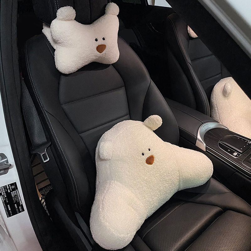 Cute Car Neck Head Rest and Pillow for Added Comfortability